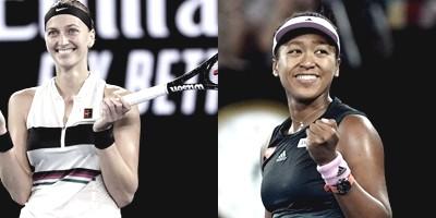 Australian Open: Osaka vs Kvitova será la final