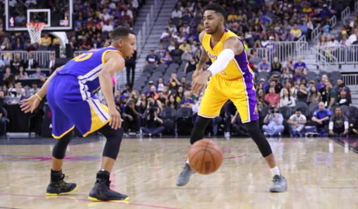 NBA - Tredici partite nella notte: spicca la rivincita tra Lakers e Warriors nella baia di Oakland