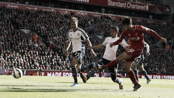 Liverpool 2-1 West Brom: Liverpool dig deep to find win