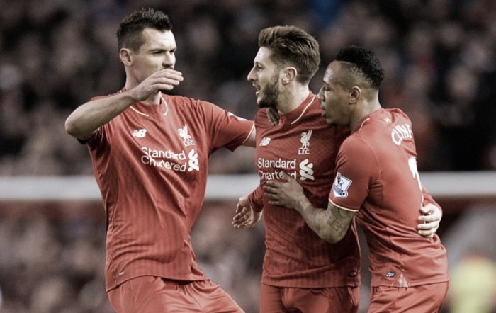 Adam Lallana says Liverpool produced the ideal response in 3-0 victory over Manchester City