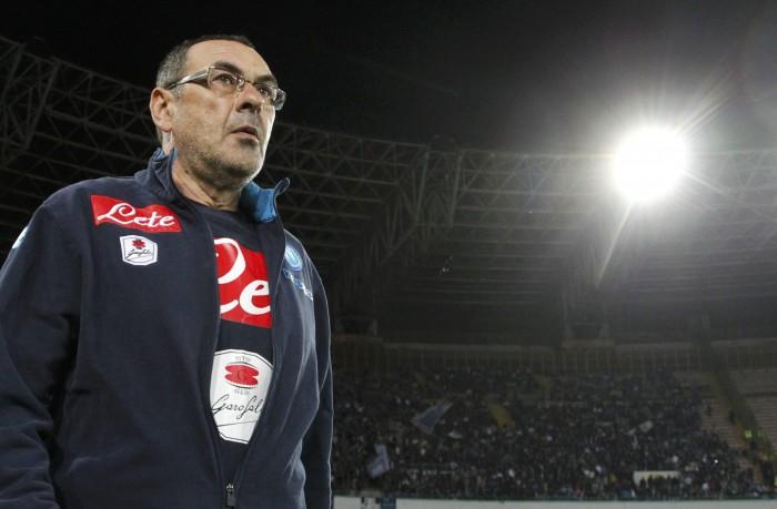 """Napoli, Sarri commenta: """"Non guardo la classifica, continuiamo così"""""""