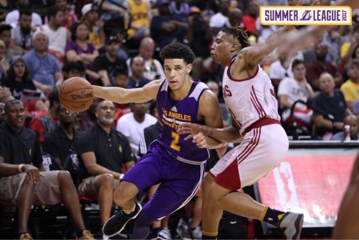 NBA Summer League, Las Vegas 2017 - Tripla doppia per Lonzo Ball, avanti i Lakers sui Cavaliers