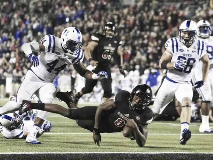 Louisville Cardinals earn their 500th win in program history over Duke Blue Devils 24-14
