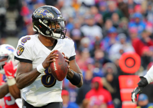 """Baltimore Ravens Quarterback Lamar Jackson admits players are tackling him lower """"nine times out of 10"""""""
