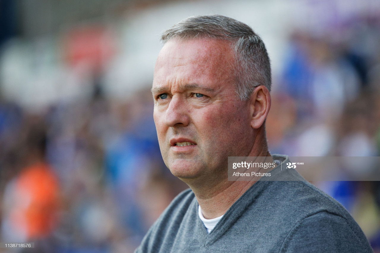 Paul Lambert saw his Ipswich Town side lose for the first time in League One this season at Doncaster Rovers. Photo: Athena Pictures.