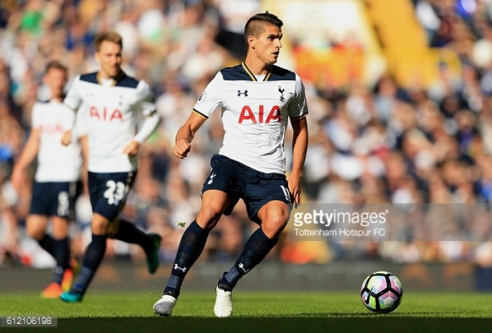 Erik Lamela vows not to stop running for Tottenham, even if his stellar form dips