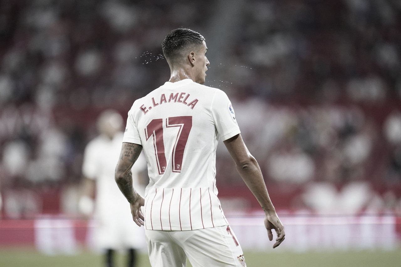 Brutal comienzo de Erik Lamela en el Sánchez-Pizjuán