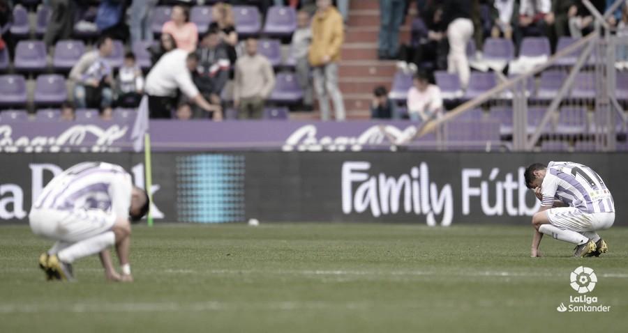 El análisis: El Real Valladolid cosecha un empate ante el Getafe que sabe a derrota