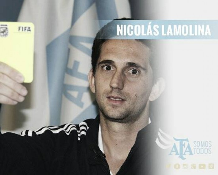 Nicolás Lamolina, el juez