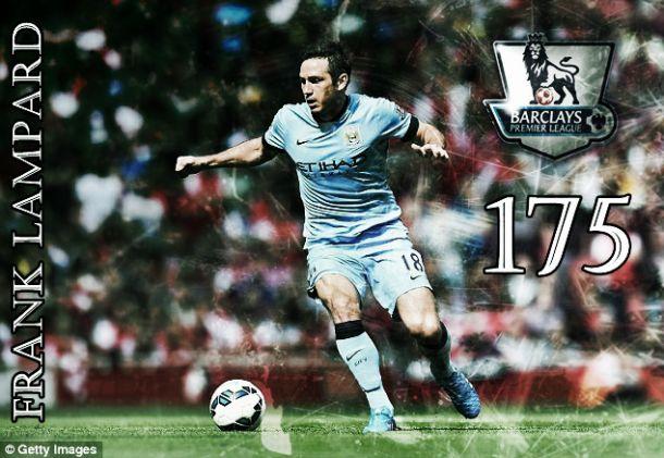 Lampard torna-se o quarto melhor marcador da Premier Lague