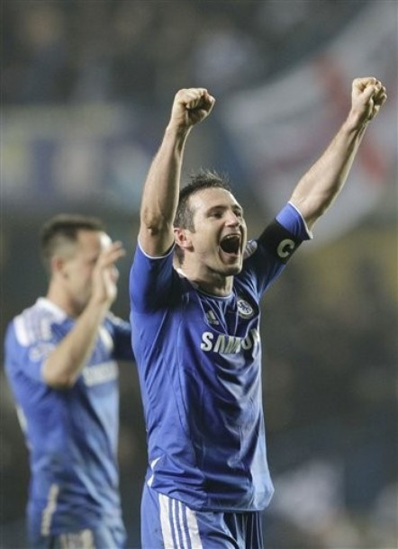 Chelsea in Champions League quarter finals after dramatic second leg tie