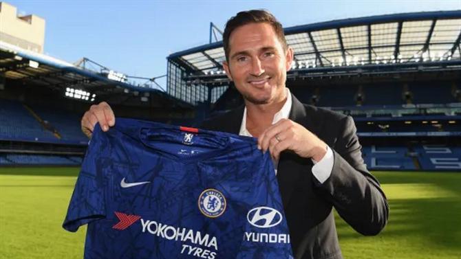 Lampard: novo treinador do Chelsea