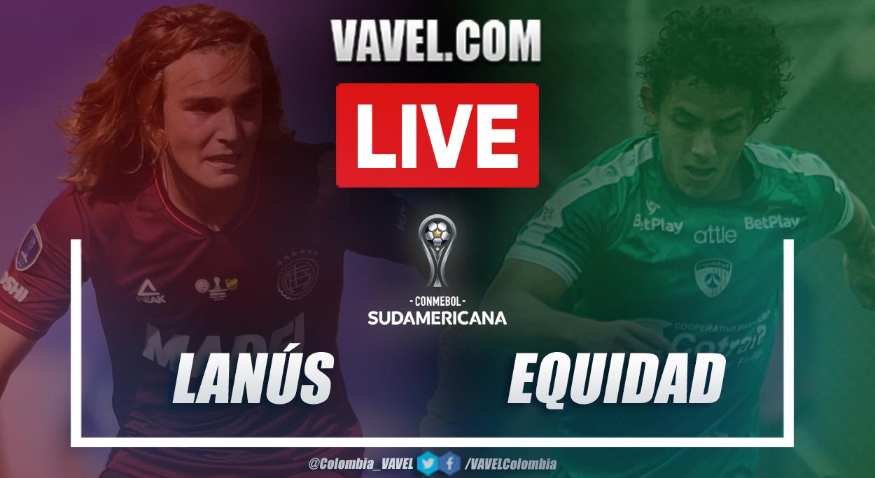 Resumen Lanús vs Equidad (4-1) en la fecha 5 del grupo H por Copa Sudamericana 2021