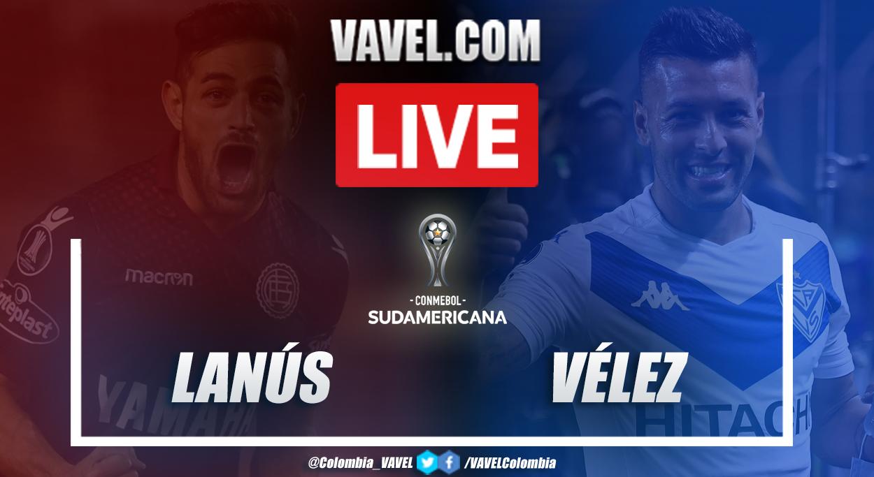 Resumen Lanús vs Vélez por Copa Sudamericana (3-0)