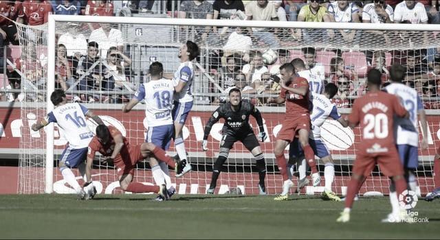 Eguarás da los tres puntos al Zaragoza