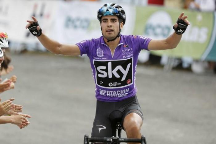 Vuelta a Burgos Moscon secondo