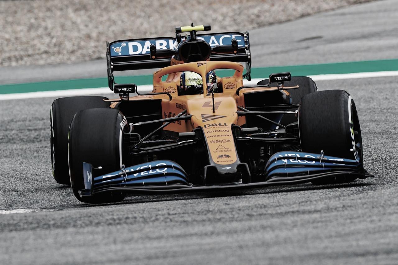 Lando Norris se diz 'muito contente' após resultado do qualifying