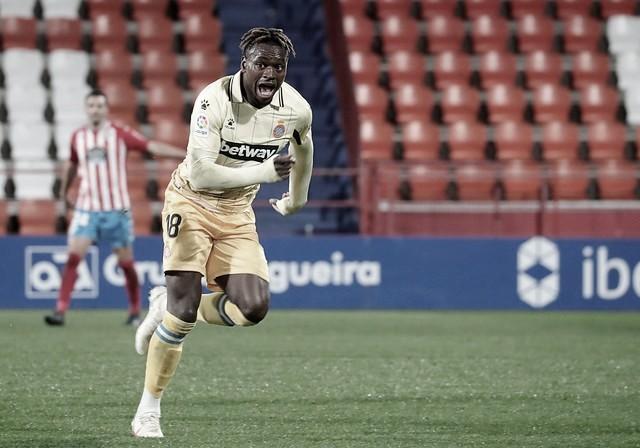 Landry Dimata se adapta rápido al RCD Espanyol