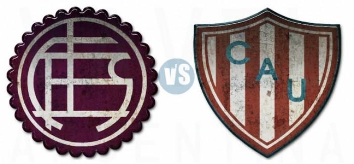 Lanús vs Unión por el torneo de Primera División