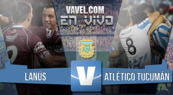 Lanús 1 - 0 Atlético Tucuman: puntaje perfecto y líder absoluto