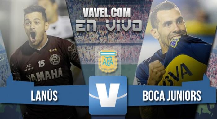 Resultado de Lanús vs Boca Juniors por el Torneo de Primera División (1-0)