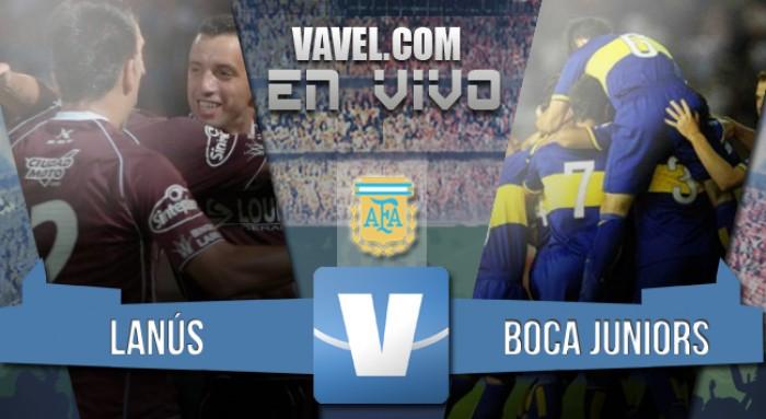 Lanús 2-0 Boca Juniors: el 'Grana' se afirma en la punta