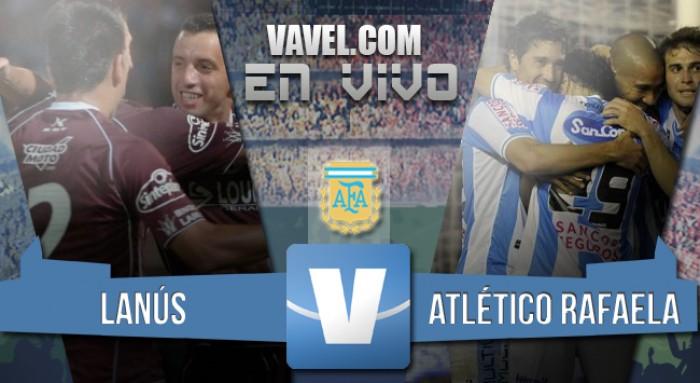 Resultado: Lanús - Atlético Rafaela por el Torneo de Transición (2-1)