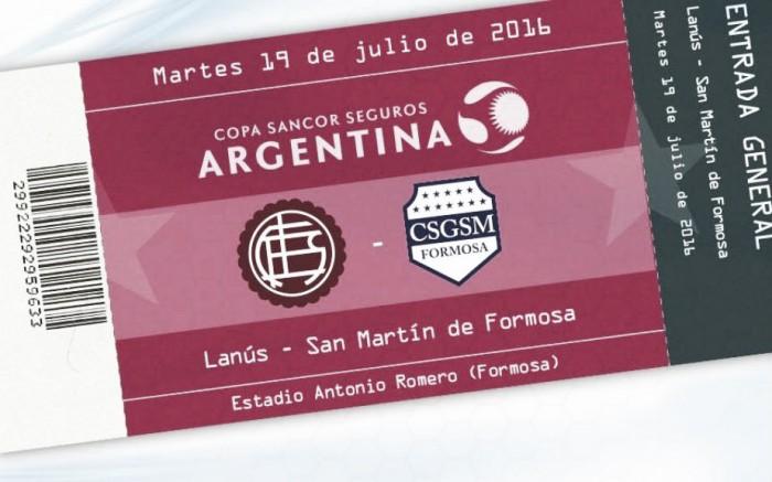 Arranca la Copa Argentina para Lanús
