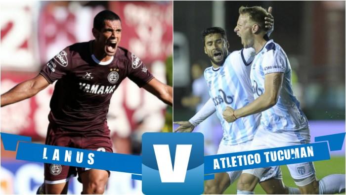 Lanús vs Atlético Tucumán EN VIVO online por el Torneo de la Independencia 2016