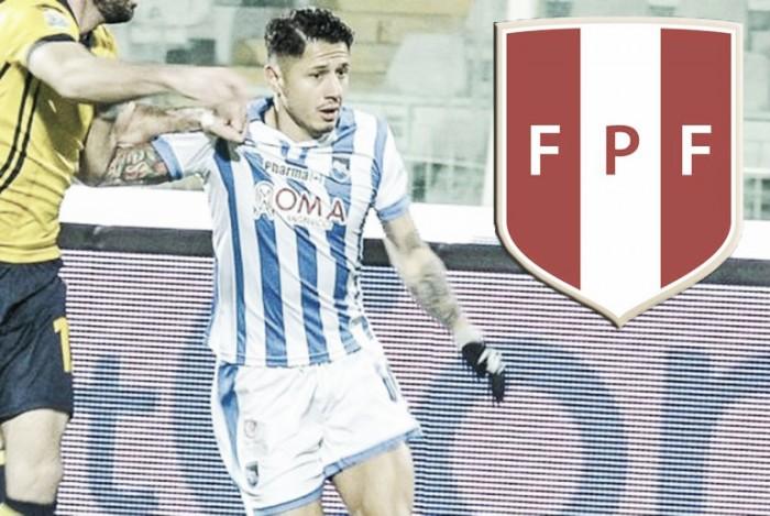 Gianluca Lapadula aplazó su decisión de jugar para la Selección Peruana hasta junio