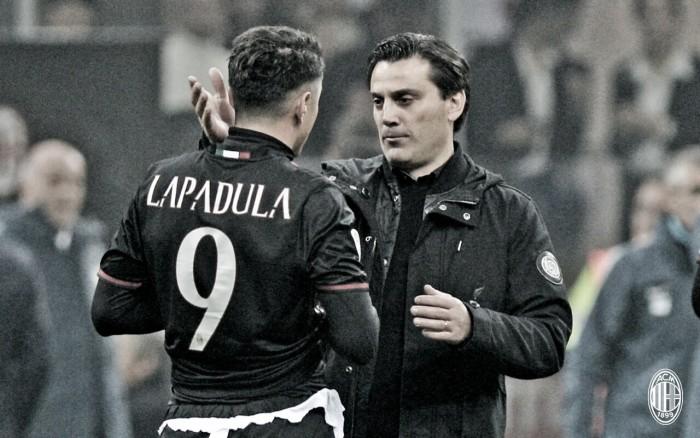 Montella vê 'copo meio cheio' após empate do Milan com a Inter