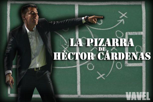 La pizarra de Héctor Cárdenas: los factores que perjudicaron al equipo