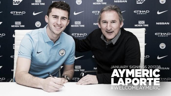 Por recorde de transferência, Manchester City anuncia zagueiro Aymeric Laporte