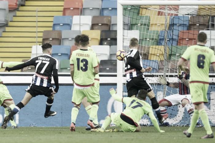 Udinese - Crotone, gioia e rammarico: le voci del post