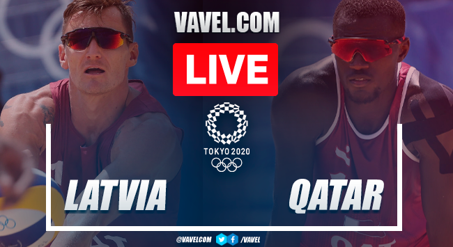 Highlights: Latvia 0-2 Qatar in Olympics Men's Beach Volleyball Bronze Medal