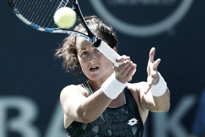 Gavrilova apea a Lara Arruabarrena de Toronto en la primera ronda