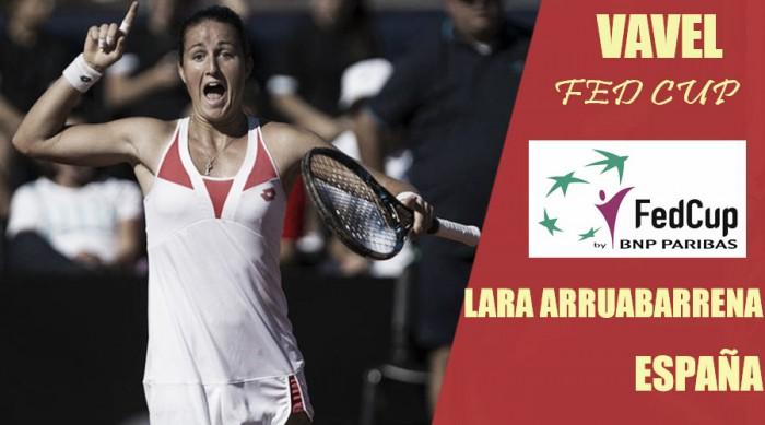 Fed Cup 2018. Lara Arruabarrena: a Italia en busca de buenas sensaciones