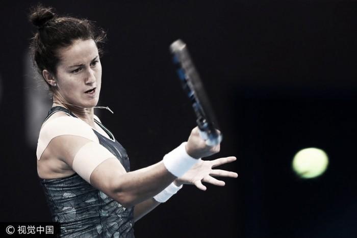 Lara Arruabarrena no consigue superar la segunda ronda del China Open