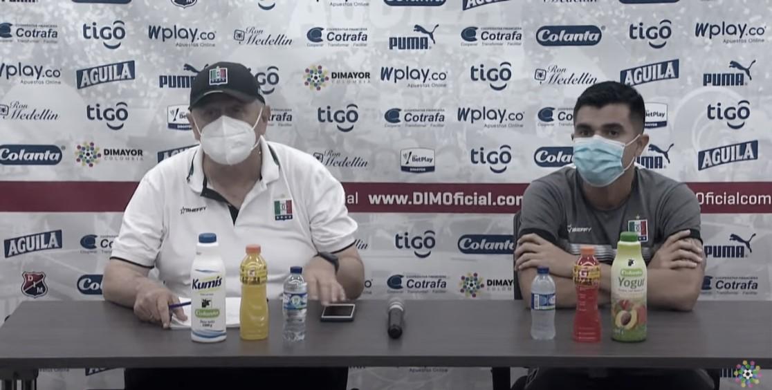 """Eduardo Lara: """"Se hizo un gran trabajo, logramos cerrarle los espacios al Medellín"""""""