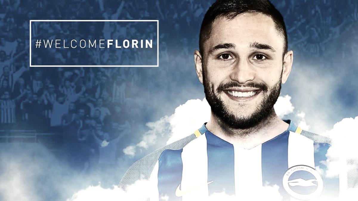 Otro fichaje para el Brighton: seis millones por Florín Andone