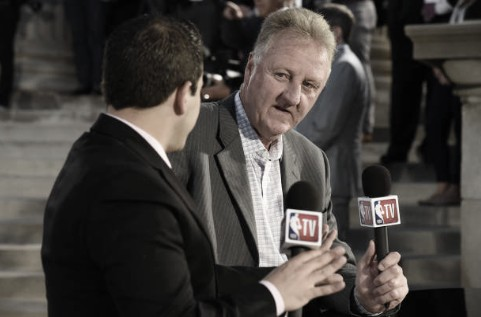 Larry Bird compara a Kobe y LeBron