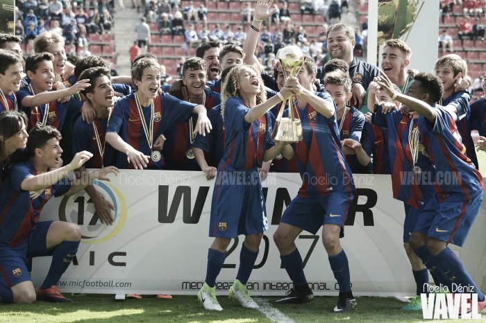 Las categorías inferiores del Barça en el MIC