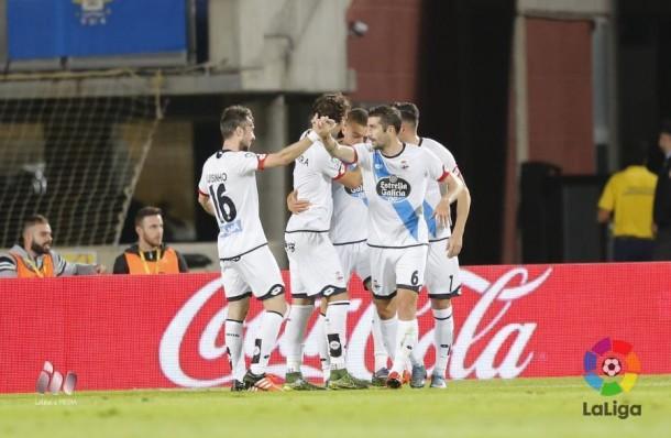 Las Palmas - Deportivo: puntuaciones del Dépor, jornada 13 de Liga BBVA