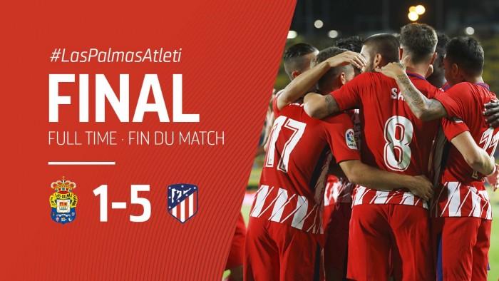 Les Colchoneros se congratulent de leur victoire. (Twitter: @Atleti)