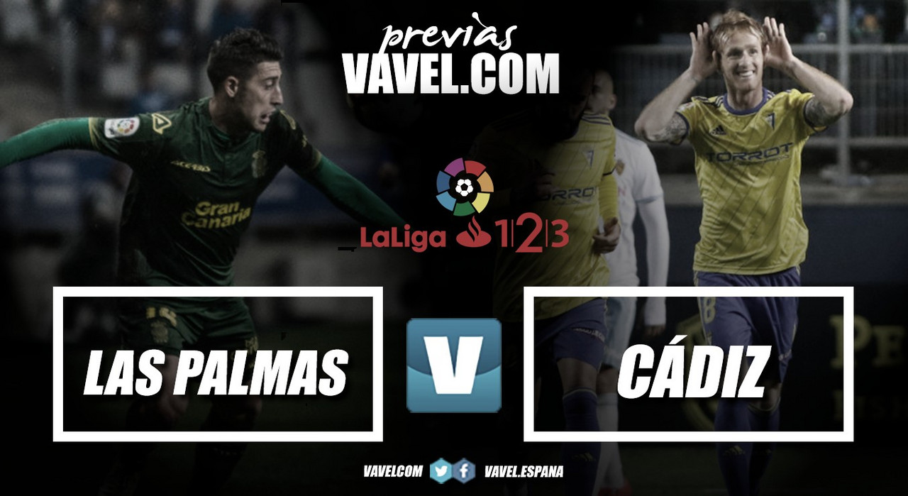 Previa Las Palmas - Cádiz: soñar con el playoff en Canarias