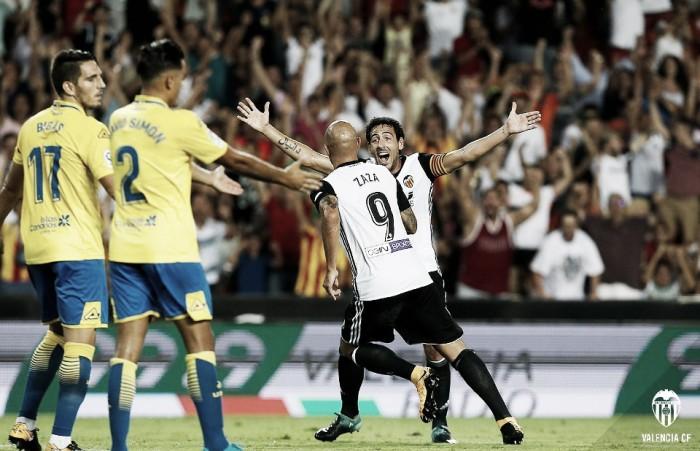Resumen UD Las Palmas vs Valencia CF Copa del Rey 2018 (1-1)
