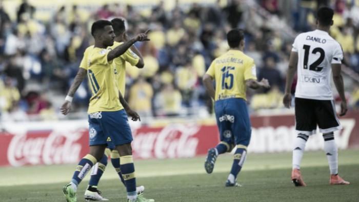 La Unión Deportiva, en su mejor racha en Primera desde 1981