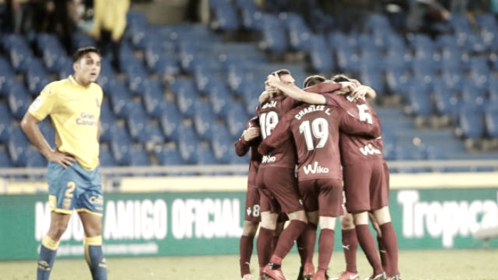 Las Palmas-SD Eibar: puntuaciones Eibar; jornada 17 Liga Santander
