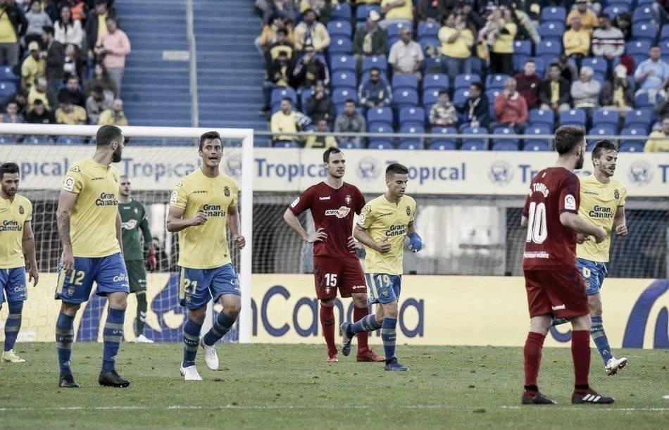 Las Palmas pone fin a la racha de Osasuna