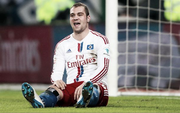 Lasogga to miss crucial games for Hamburg